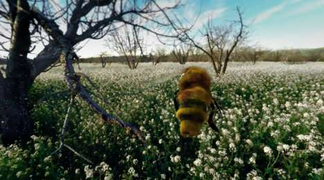 Insect-Sized VR Experiences - Haagen-Dazs Created 'The Extraordinary Honey Bee' VR Experience