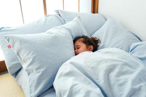 Non-Toxic Indigo Bedding