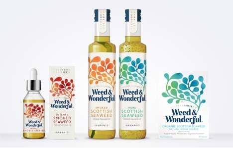 Seaweed-Infused Cooking Oils
