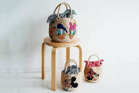 Woven Character Bags
