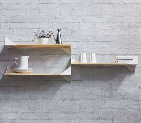 Endlessly Modular Shelving Systems