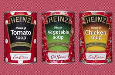 Celebratory Soup Can Designs