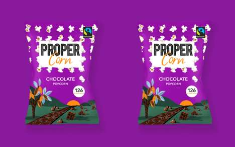 Chocolate-Infused Popcorns