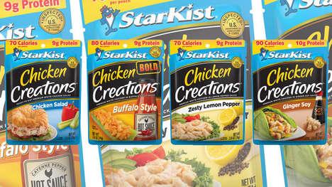 Flavorful Premixed Chicken Pouches