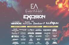 Bass-Heavy Canadian Music Festivals - Ever After 2018 Boasts Three Days of Hard-Hitting Headliners