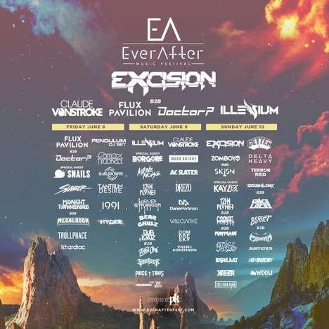 Bass-Heavy Canadian Music Festivals