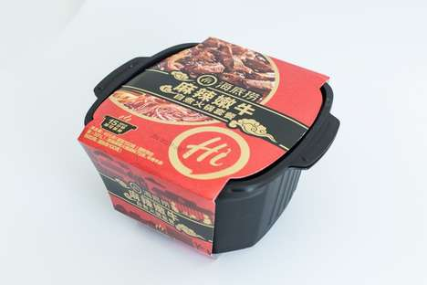 Self-Heating Instant Noodles