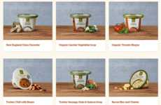 Ready-to-Eat Soup Lines - Panera at Home Offers Ready-to-Eat Products Including Soup and Chili