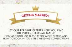 Personalized Wedding Fragrances - The Perfume Shop's Wedding Service Helps Couples Settle on a Scent