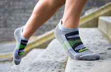 Mohair-Infused Athletic Socks