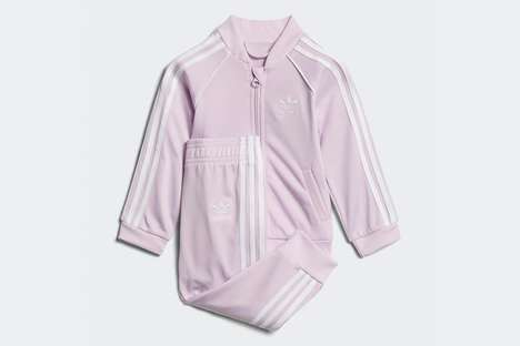 Pink Baby Track Suits