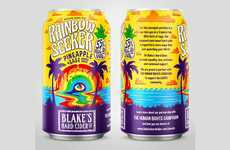 LGBTQ Organization-Supporting Ciders - The Blake's Rainbow Seeker Hard Cider is Socially Conscious