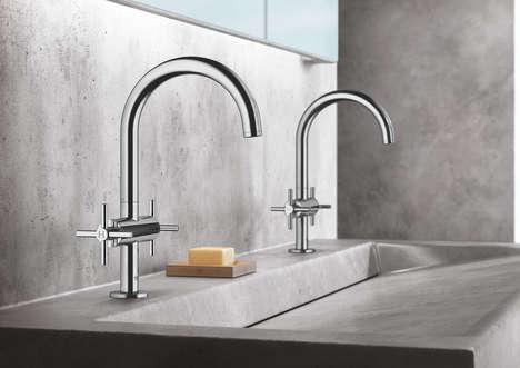 Minimal Design-Focused Faucets