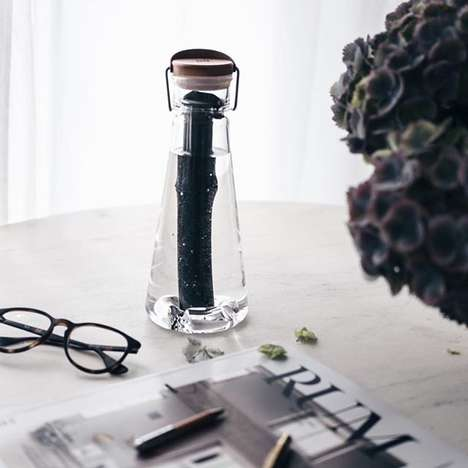Bamboo-Filtered Water Bottles - BU Boasts a Selection of Sustainable Bamboo-Based Products