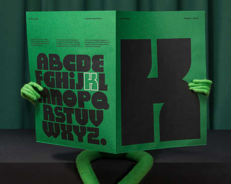 Puppet-Inspired Fonts - The 'Kernit' Font Captures the Whimsy of Jim Henson and His Muppets