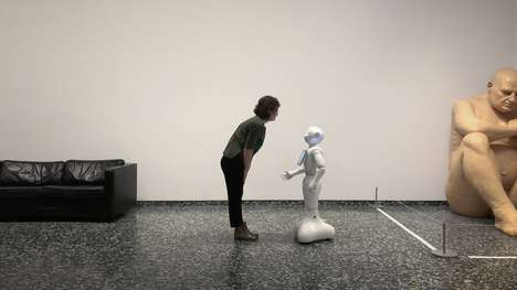 Robotic Museum Guides - The Smithsonian is Introducing Pepper as a New Guide for Guests