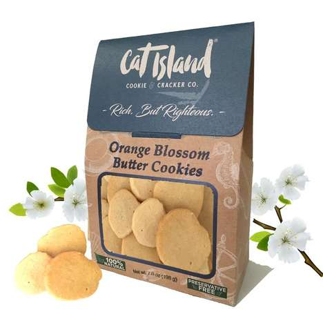Orange Blossom Cookies