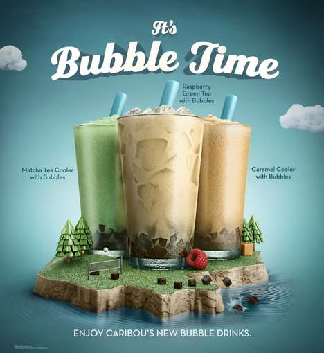 Coffee Shop Bubble Teas