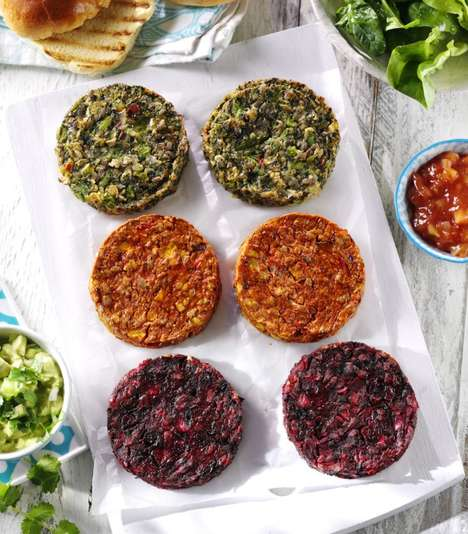 Accessibly Priced Vegan Burgers