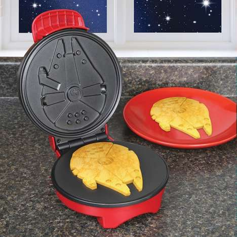 Space-Themed Waffle Makers - This Star Wars Waffle Maker is the Perfect Way to Start Your Day