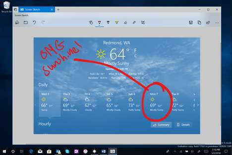 Long-Awaited Screenshot Updates - Windows 10 is Getting a New Screenshot Tool Called 'Screen Sketch'