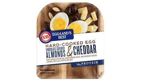 Pre-Peeled Egg Snack Kits