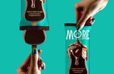 Delectable Ice Cream Packaging - Getbrand Has Designed Packaging for a Popular Russia Ice Cream