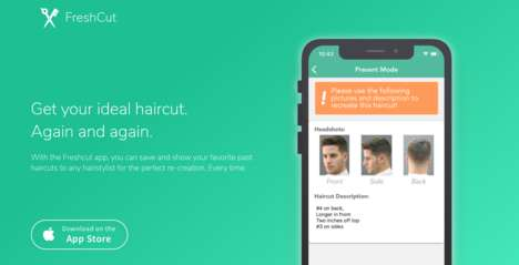 Precise Image-Based Haircut Apps