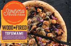 Rustic Tofu Pizzas - The Sonoma Woodfired 'Tofumami' Pizza Spotlights a Plant-Based Protein