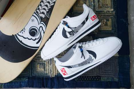 Reworked Japanese-Inspired  Shoes