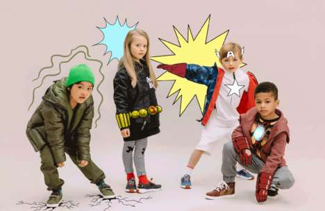 Superhero-Inspired Kids Shoes