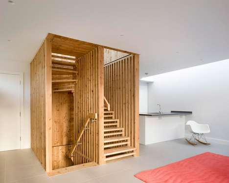 Naturalistic Timber Staircases