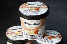Triple-Layer Ice Cream Flavors