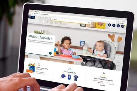 Personalized Mega-Store Websites - The Revamped Walmart Website Focuses on Individual Experiences