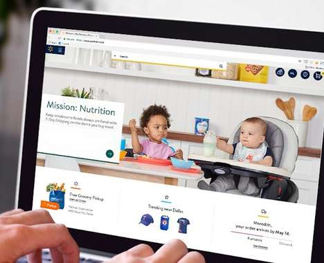 Trend maing image: Personalized Mega-Store Websites
