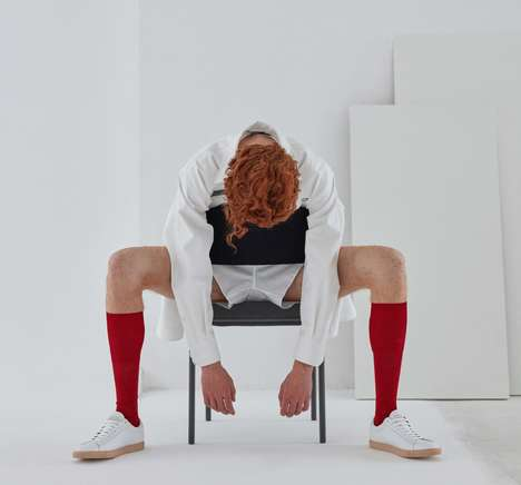 Hyper-Minimalist Sneaker Designs