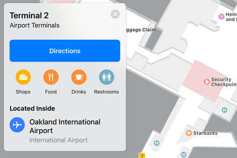 Indoor Airport Mapping
