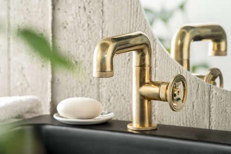 Utilitarian Faucet Designs