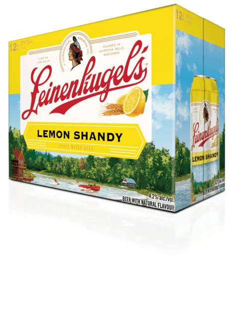 Lemonade-Inspired Summer Beers - The Leinenkugel Lemon Shandy is Refreshing and Lightly Carbonated
