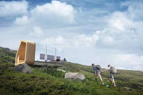 Sustainable Mountain Cabins