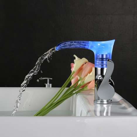 Chromatic LED Sink Faucets