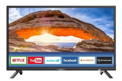 Affordable Feature-Rich Smart TVs - These Kogan Smart LED TVs Start at Just $299