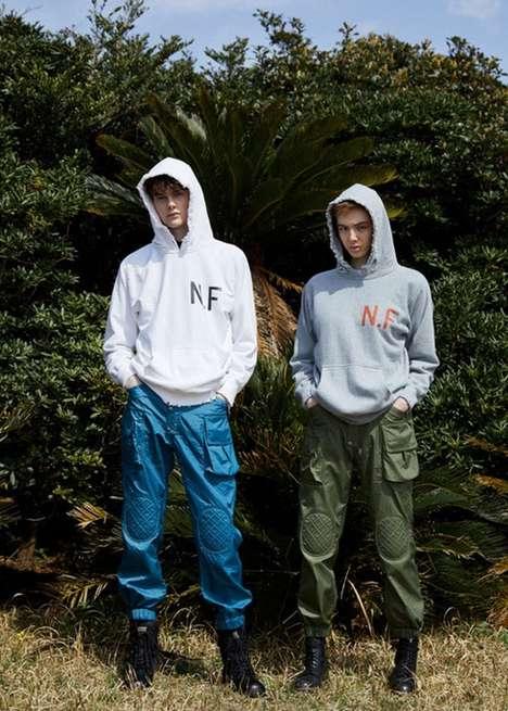 Tropical Emblazoned Streetwear