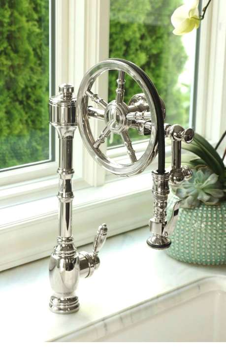 Luxurious Wheel Pulldown Faucets