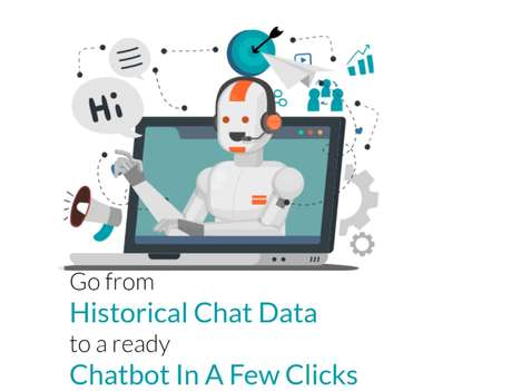 Chatbot-Creating Platforms - 'Chatbot2Go' Turns Chat Logs into a Customized Support Solution