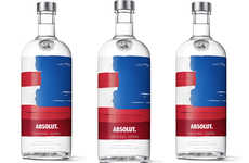 Patriotic Americana Vodka Packaging