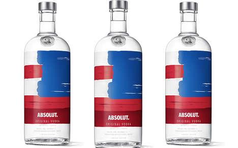 Patriotic Americana Vodka Packaging