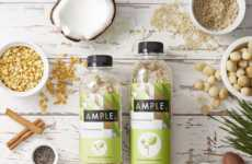 Bottled Meal-Replacing Powders - Ample Foods' Meal Replacements Come in Vegan and Keto Formulas