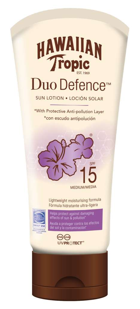 Anti-Pollution Sunscreen Lotions