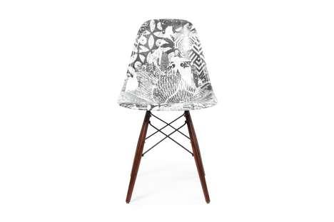 Modern Art Graphic Chairs